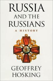 Cover of: Russia and the Russians | Geoffrey A. Hosking