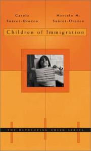Cover of: Children of immigration by