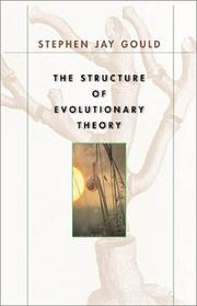 Cover of: The Structure of Evolutionary Theory