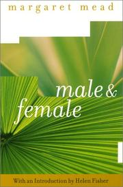 Cover of: Male and female