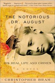 Cover of: The Notorious Dr. August