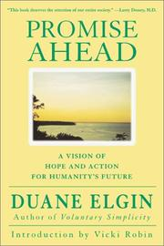 Cover of: Promise Ahead | Duane Elgin