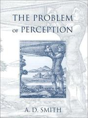 Cover of: The Problem of Perception | A. D. Smith