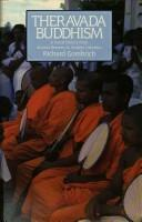 Cover of: Theravāda Buddhism | Richard F. Gombrich