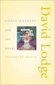 Cover of: Consciousness and the Novel