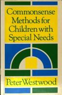 Cover of: Commonsense Methods for Children with Special Needs
