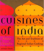Cover of: Cuisines of India | Smita Chandra