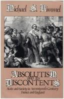 Cover of: Absolutism and its discontents