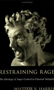 Cover of: Restraining Rage