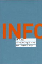 Cover of: Information | Hans Christian von Baeyer