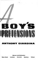 Cover of: A boy's pretensions
