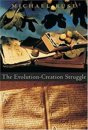 Cover of: The evolution-creation struggle