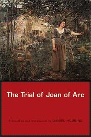 The Trial of Joan of Arc by Daniel Hobbins