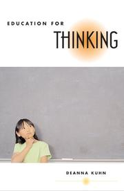 Cover of: Education for Thinking