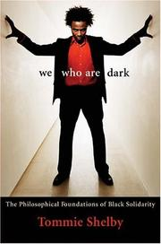 Cover of: We who are dark | Tommie Shelby