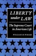 Cover of: Liberty under law