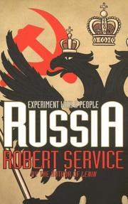 Cover of: Russia | Robert Service