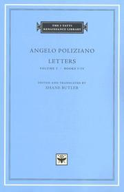 Cover of: Angelo Poliziano