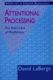 Cover of: Attentional processing