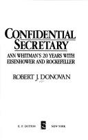 Cover of: Confidential secretary