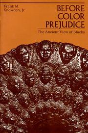Cover of: Before Color Prejudice