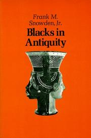 Cover of: Blacks in Antiquity