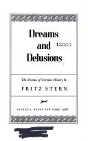 Cover of: Dreams and delusions | Fritz Richard Stern