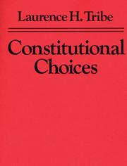 Cover of: Constitutional Choices