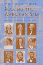 Cover of: Making the American self