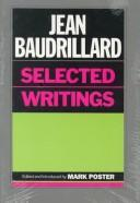 Cover of: Jean Baudrillard