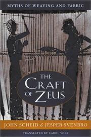 Cover of: The craft of Zeus   John Scheid