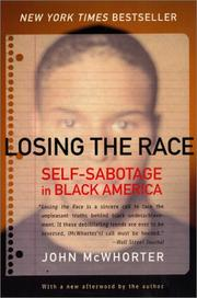 Cover of: Losing the race