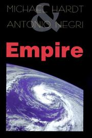 Cover of: Empire | Michael Hardt
