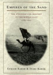 Cover of: Empires of the sand