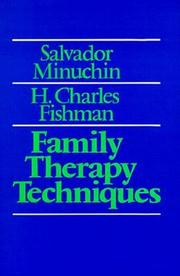Cover of: Family therapy techniques