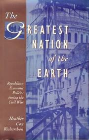 Cover of: The greatest nation of the earth