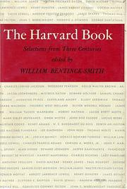 Cover of: The Harvard book