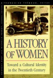 Cover of: A History of Women in the West, Volume V