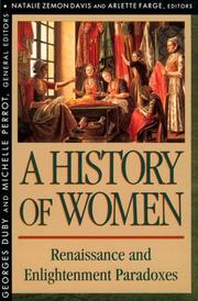 Cover of: A history of women in the West
