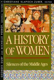 Cover of: A History of Women in the West, Volume II |