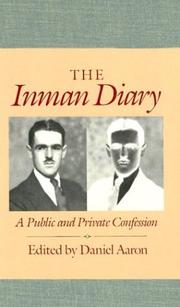 Cover of: The Inman diary