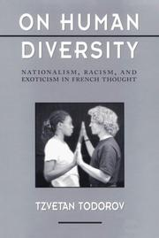Cover of: On Human Diversity: Nationalism, Racism, and Exoticism in French Thought (Convergences: Inventories of the Present)