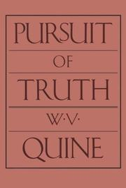 Cover of: Pursuit of truth