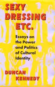 Cover of: Sexy dressing, etc