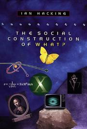 Cover of: The social construction of what?