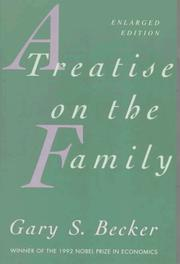 Cover of: A Treatise on the Family