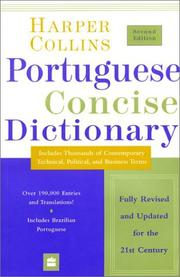 Cover of: Collins Portuguese Concise Dictionary