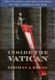 Cover of: Inside the Vatican