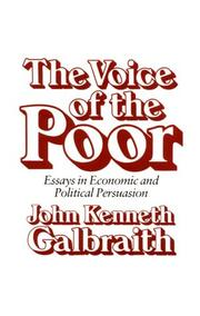 Cover of: The voice of the poor