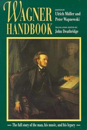 Cover of: Wagner handbook